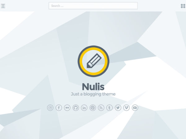 Nulis Writers and Authors WordPress Theme
