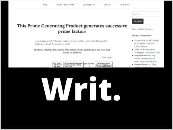 Writ Writers and Authors WordPress Theme